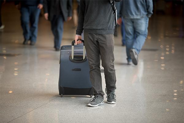 O passageiro também deve tomar cuidados para evitar transtornos com extravio.