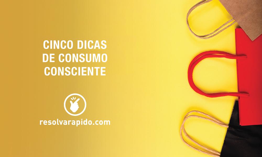dicas de consumo consciente
